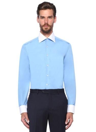 Fray Gömlek Mavi